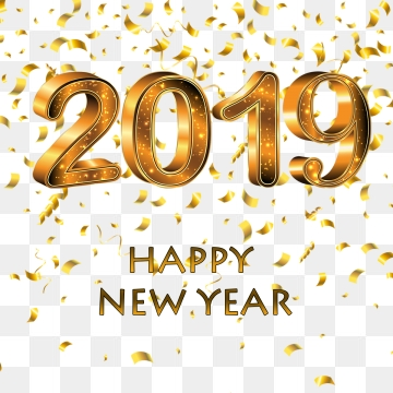 Happy new year 2019 png 145039 png